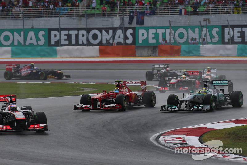 Дженсон Баттон. ГП Малайзии, Воскресная гонка.