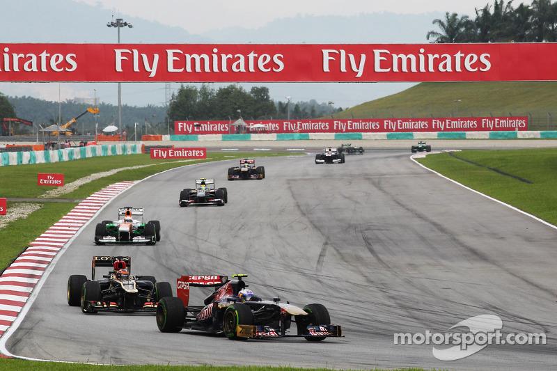 Даниэль Риккардо. ГП Малайзии, Воскресная гонка.