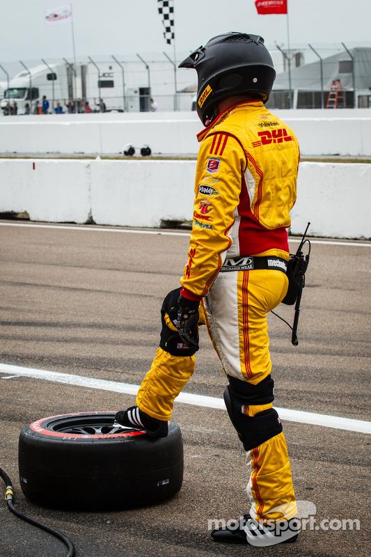 Equipe Andretti Autosport pronta para um pit stop