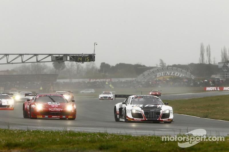 #11 Belgian Audi Club Team WRT Audi R8 LMS ultra: Stéphane Ortelli, Laurens Vanthoor
