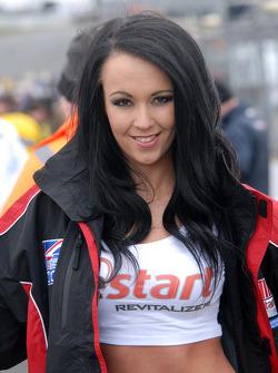 Team BMR Restart Racing Grid Girl