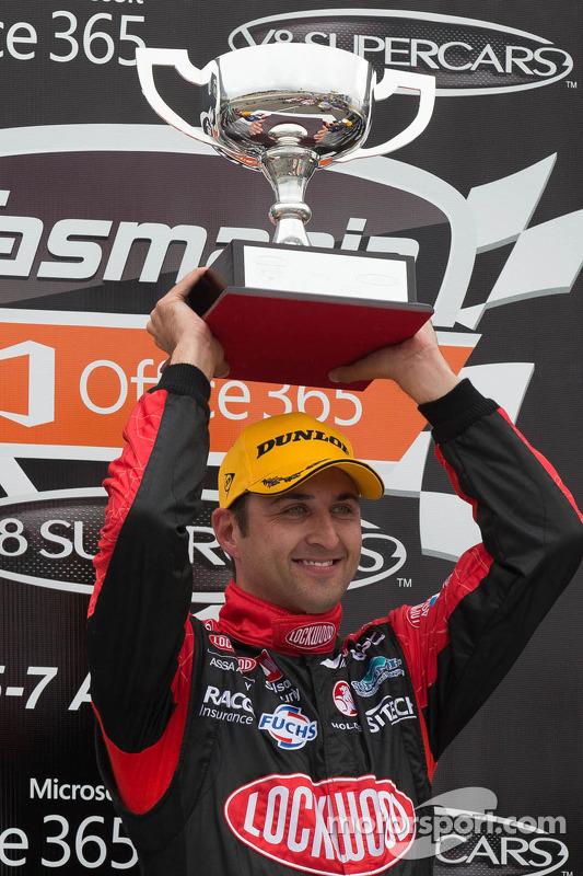 O vencedor Fabian Coulthard, Lockwood Racing