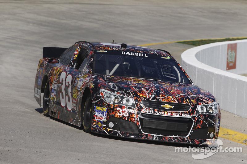 Landon Cassill, Richard Childress Racing Chevrolet