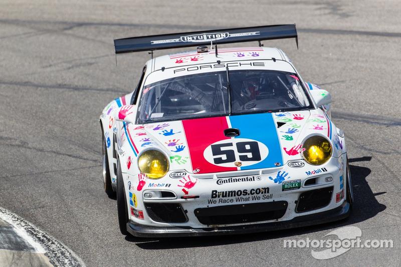 Brumos Racing Porsche GT3: Andrew Davis, Leh Keen