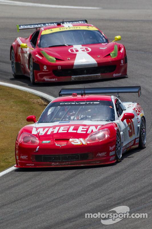 Marsh Racing Corvette: Eric Curran, Boris Said