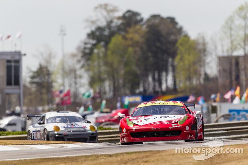 AIM Autosport Team FXDD met Ferrari Ferrari 458: Emil Assentato, Anthony Lazzaro