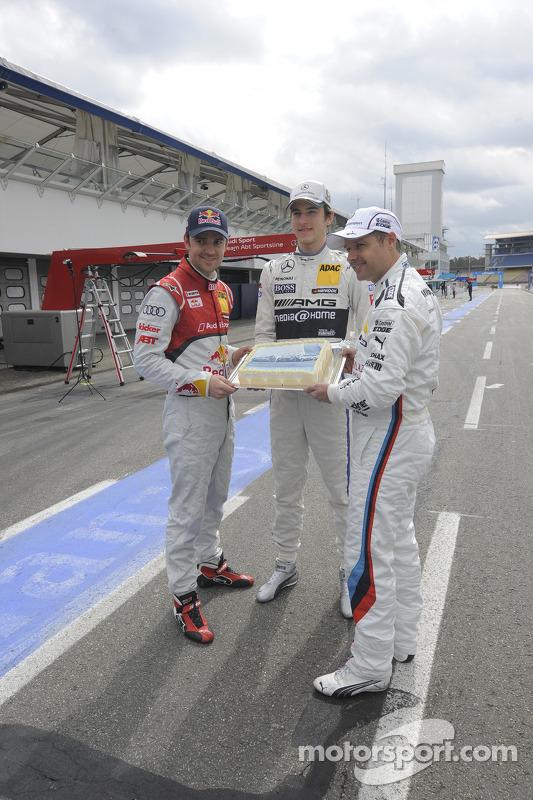 Jamie Green, Audi Sport Team Abt Sportsline Christian Vietoris, Team HWA, Andy Priaulx, BMW Team RMG