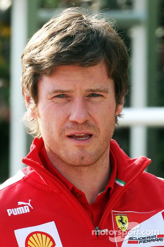 Rob Smedley, Engenheiro da Ferrari