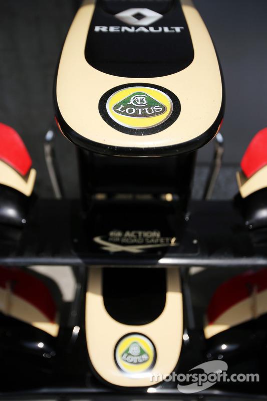Lotus F1 E21 asa dianteira