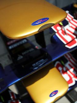 Scuderia Toro Rosso STR8 front wings
