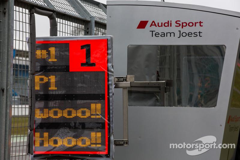 Audi pitbord
