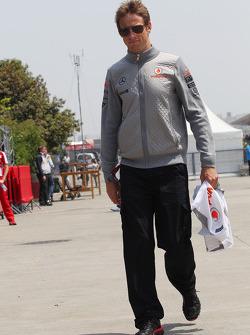 Дженсон Баттон. ГП Китая, Воскресенье, перед гонкой.