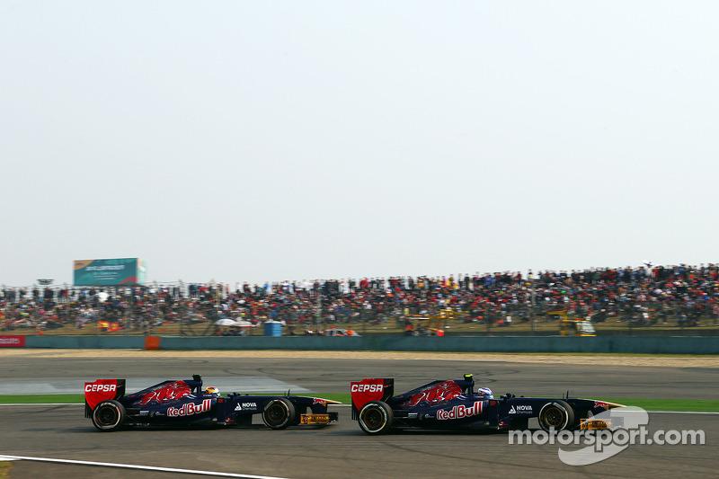 Даниэль Риккардо. ГП Китая, Воскресная гонка.