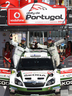 Essapekka Lappi, Janne Ferm, Skoda Fabia S2000, WRC2 winner