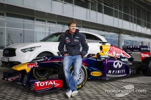 Sebastian Vettel at the Sochi circuit