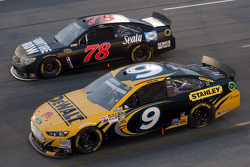 Marcos Ambrose and Kurt Busch