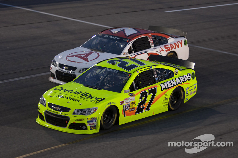 Paul Menard and Dave Blaney
