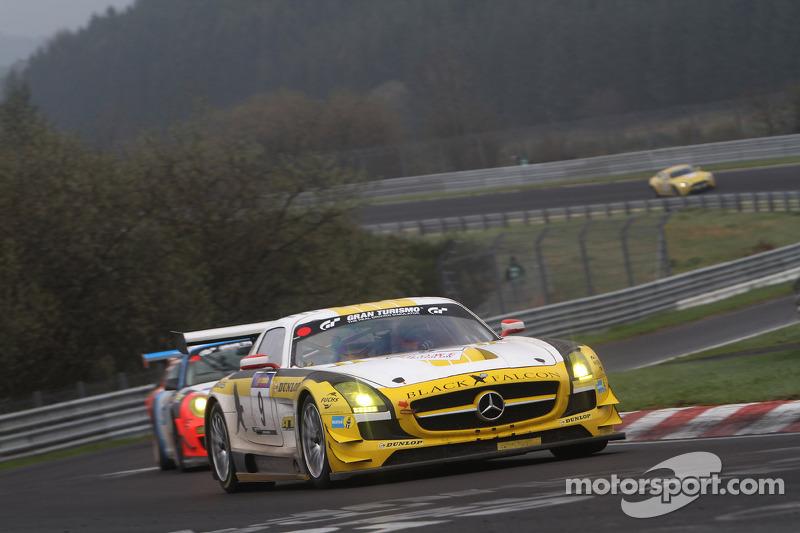 Bernd Schneider, Sean Edwards, Jeroen Bleekemolen, Black Falcon, Mercedes-Benz SLS AMG GT3
