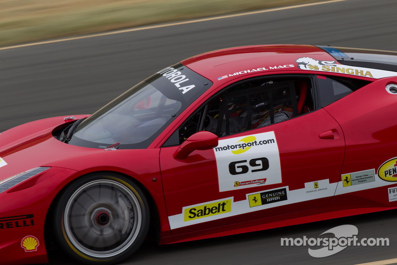 #69 Ferrari of Houston Ferrari 458: Michael Macs
