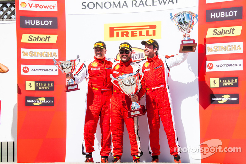 TP podium: winner Carlos Kauffmann, second place Mark McKenzie, third place Emmanuel Anassis