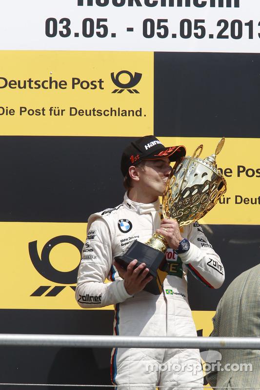 Vencedor Augusto Farfus, BMW Team RBM BMW M3 DTM