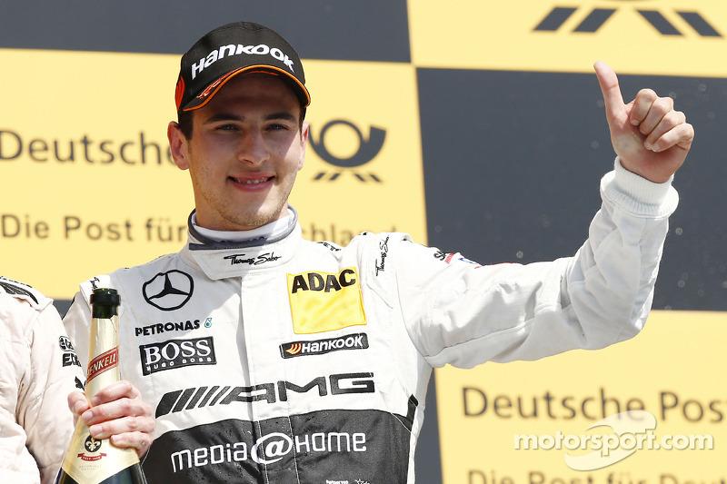 3e plaats Christian Vietoris, Mercedes AMG DTM-Team HWA DTM Mercedes AMG C-Coupé