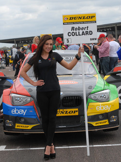 eBay Motors Grid girl