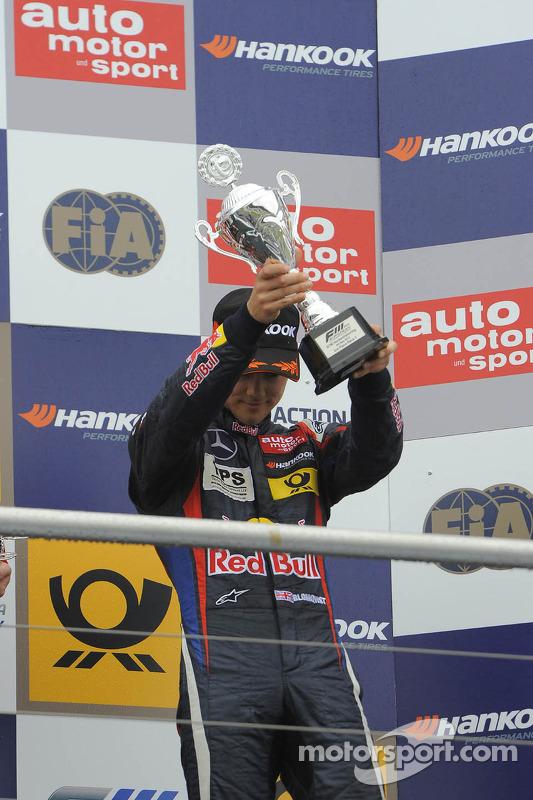 terceiro colocado Tom Blomqvist