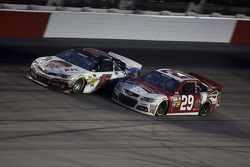 Kevin Harvick and Clint Bowyer