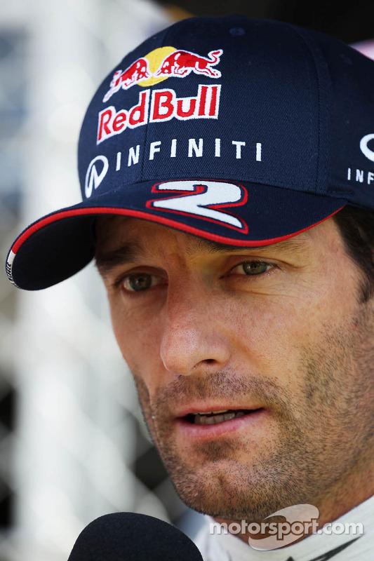 Mark Webber, Red Bull Racing no grid