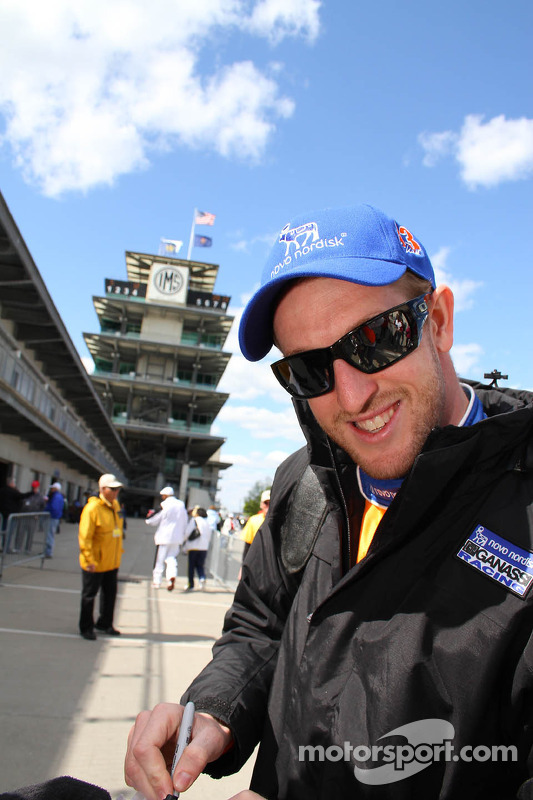 Charlie Kimball, Novo Nordisk Chip Ganassi Honda Racing