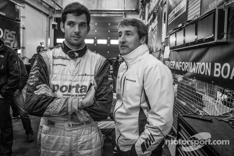 Sean Edwards and Bernd Schneider