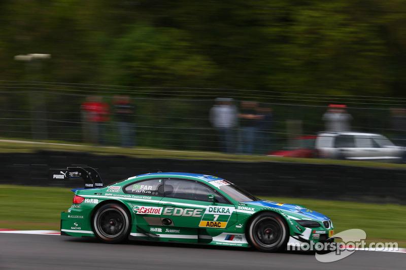 Augusto Farfus Jr., BMW Team RBM. BMW M3 DTM