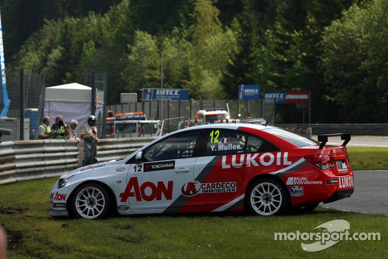 Yvan Muller, Chevrolet Cruze 1.6T, RML spint