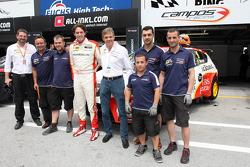 Fernando Monje, SEAT Leon WTCC, Campo Racing en zijn team