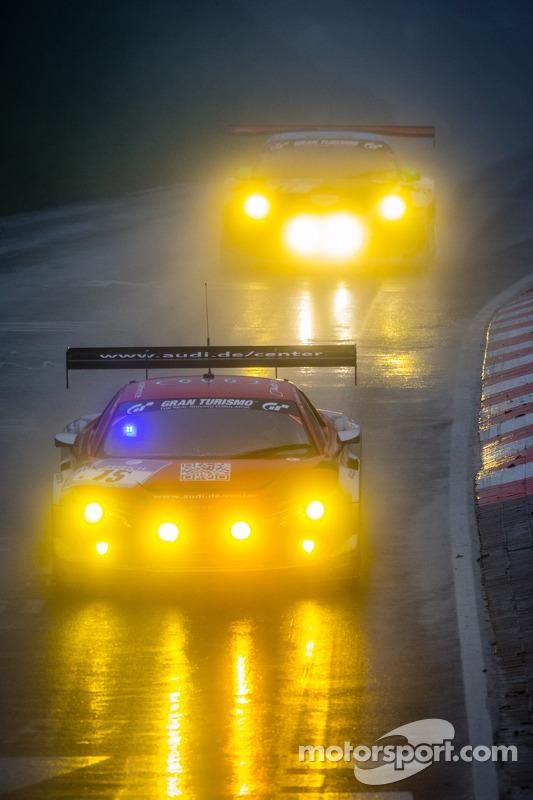 #15 Audi race experience Audi R8 LMS ultra (SP9): Rahel Frey, Dominique Bastien, Ronnie Saurenmann, Alex Yoong
