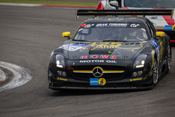 #125 Rowe Racing Mercedes-Benz SLS AMG GT3 (SP9): Michael Zehe, Marko Hartung, Reinhold Renger, Mark Bullitt