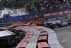 Start of the race, Crash, Fabio Leimer