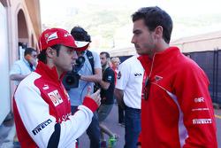 Felipe Massa, Ferrari con Jules Bianchi, Marussia F1 Team