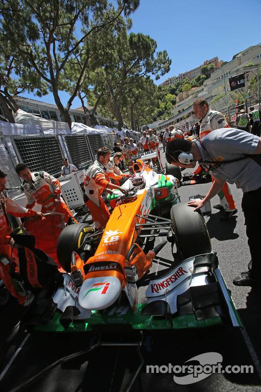 Paul di Resta, Sahara Force India VJM06 no grid