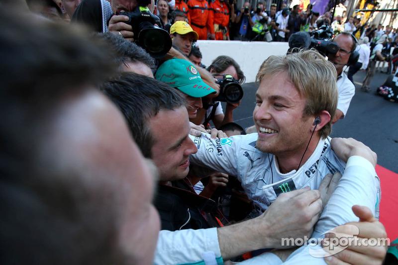 1e plaats Nico Rosberg, Mercedes AMG F1