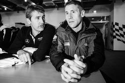 Bernd Schneider and Peter Dumbreck