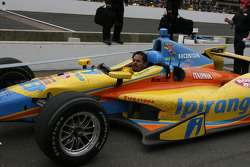 Ana Beatriz, Dale Coyne Racing Honda after the race