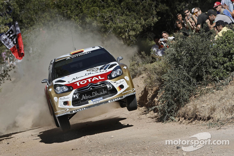 Daniel Sordo en Carlos del Barrio, Citroen DS3 WRC, Citroën Total Abu Dhabi World Rally Team