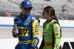 Ricky Stenhouse Jr. and Danica Patrick