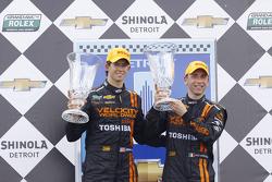Race winners Max Angelelli, Jordan Taylor