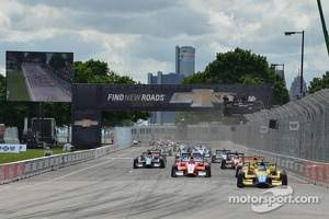 IndyCar race at Belle Isle