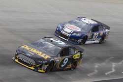 Marcos Ambrose and Travis Kvapil