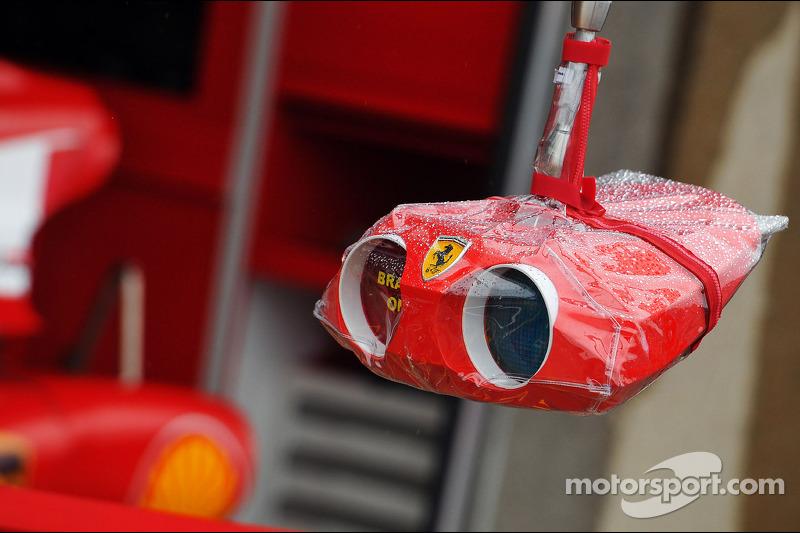 Ferrari pit stop light system