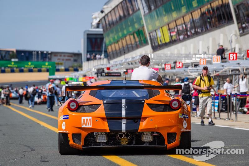 #81 8Star Motorsports Ferrari F458 Italia